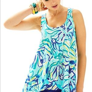 Lily Pulitzer Monterey Tank Top Size Small